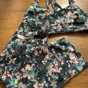 Lululemon Dappled Daze Multi Set nwot